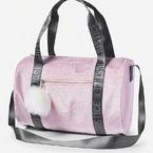 Shimmer Logo Duffle Bag - $40 minimum required